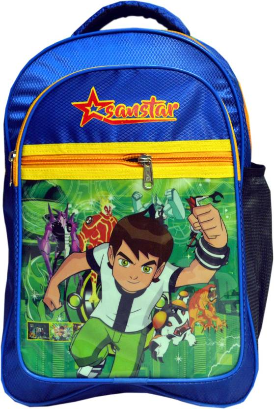 sabnstar Ben 10 Waterproof School Bag (Blue 676dae24a6d06
