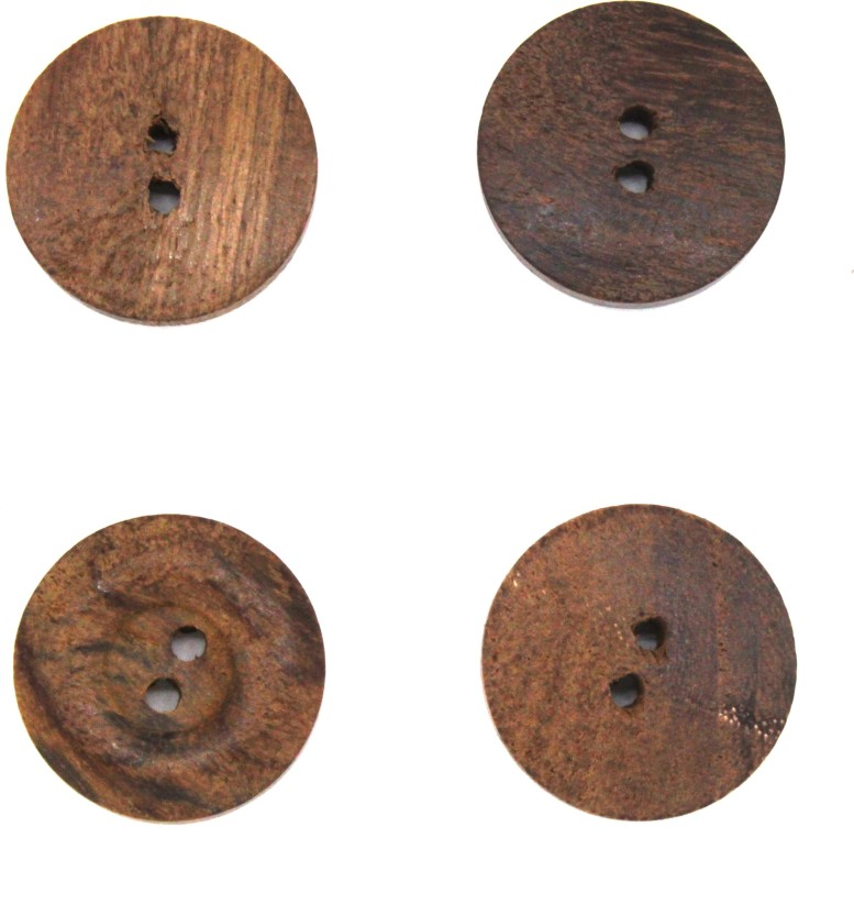 Brown Generic Buttons 15mm