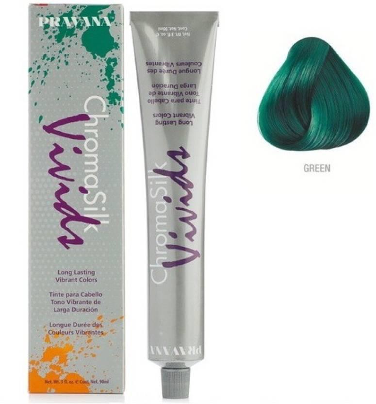 Pravana Chromasilk Vivids Green Hair Color Price In India Buy