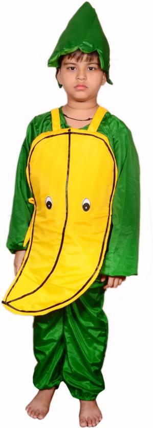 Anmol Dresses Ad Banana Fancy Dress For 4 Years Kids Banana Costumes