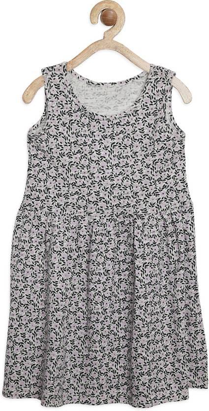bafa669764b Tiara Girls Midi Knee Length Casual Dress Price in India - Buy Tiara ...