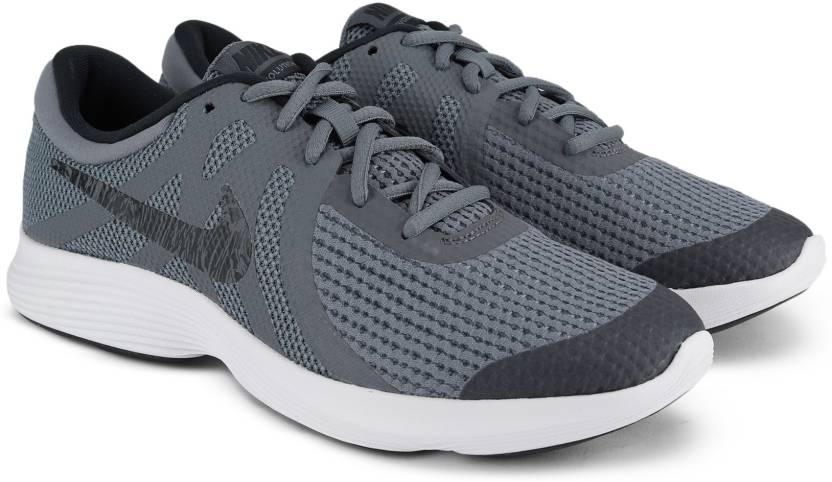 the best attitude bfbd7 7c690 Nike Boys Lace Running Shoes (Grey)
