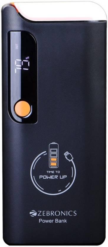 Zebronics 10000 Mah Power Bank Zeb Mc10000ld Mobile Battery