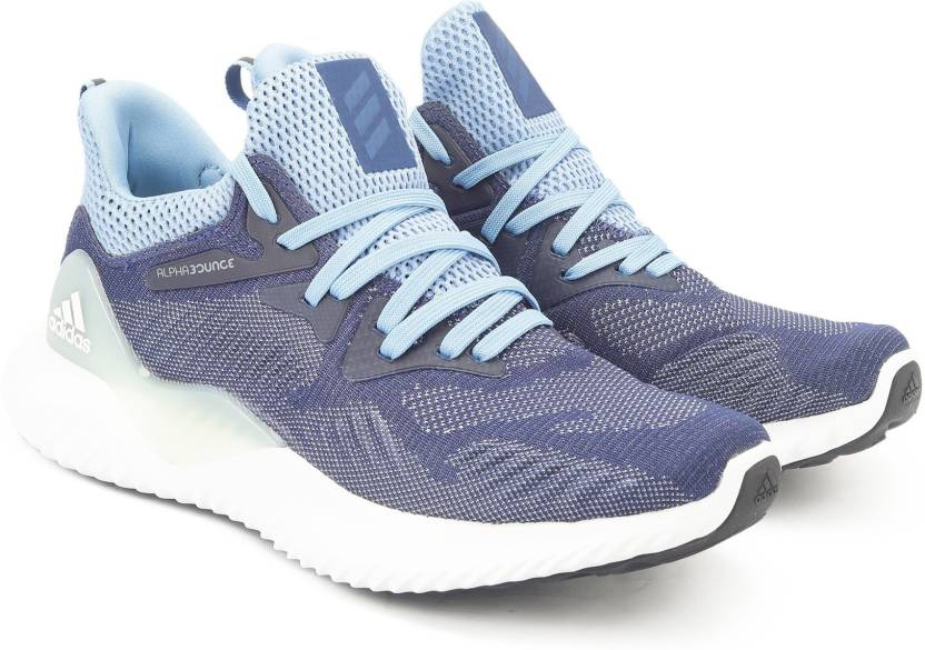 32a0f2a3e8bb2 ADIDAS ALPHABOUNCE BEYOND W Running Shoes For Women - Buy Blue Color ...