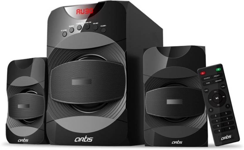 Buy Artis MS405 2.1 Ch Wireless Multimedia speaker system with FM SD ... ef25153d04c