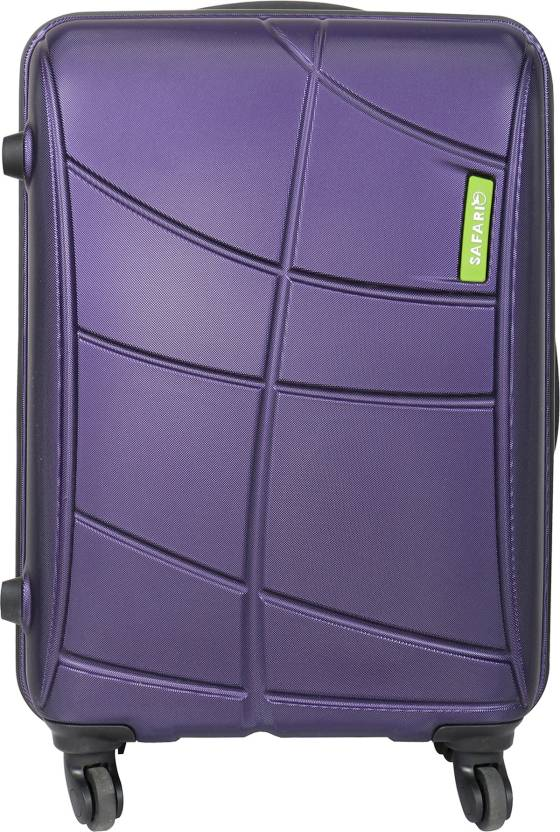 cb7ac733bff Safari Vivid Plus 55 cm Hard Trolley (Purple) Cabin Luggage - 22 inch ( Purple)