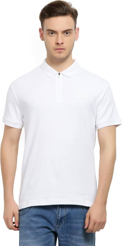 b901659a Levi's Solid Men's Polo Neck White T-Shirt - Buy White Levi's Solid Men's  Polo Neck White T-Shirt Online at Best Prices in India | Flipkart.com