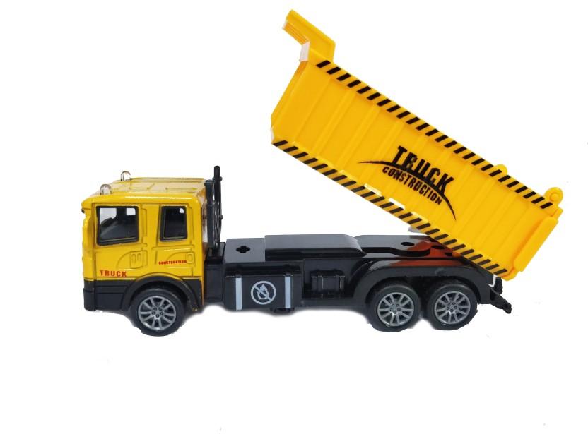 3D Metal Tipper Dump Truck Tip Trailer Vehicle Miniature Model Puzzle Gift Him