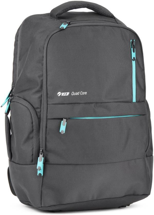 VIP STREAK 01 LAPTOP BACKPACK GREY 20 L Backpack Grey - Price in ... 22f8af59bc09e