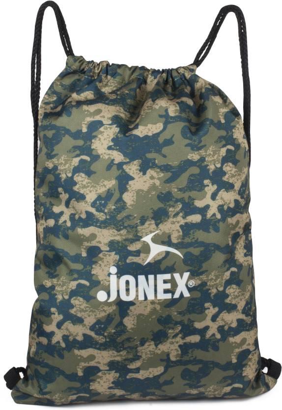 de61b1ae6b97 Jonex Army Design Reversible string bag Backpack