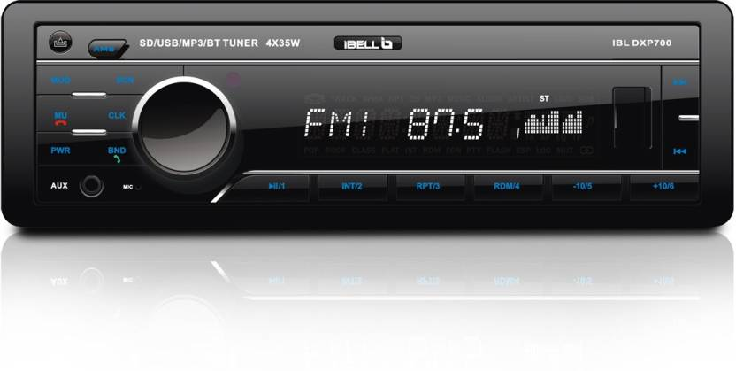 20bbf64d02e iBELL IBL DXP 700 Car Stereo Price in India - Buy iBELL IBL DXP 700 ...