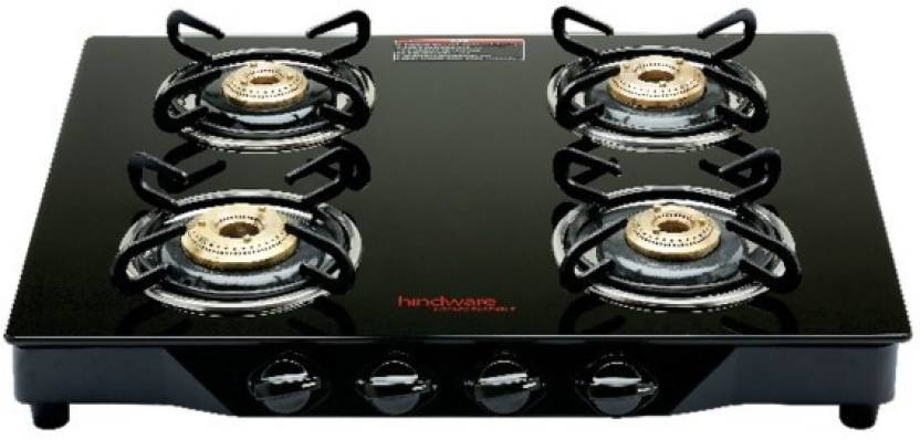 Hindware Armo Gl 4b Ai Stainless Steel Automatic Gas Stove 4 Burners