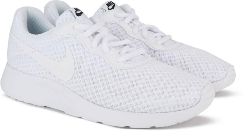 Nike WMNS NIKE TANJUN Casuals For Women - Buy WHITE WHITE-BLACK ... 9119e394e21