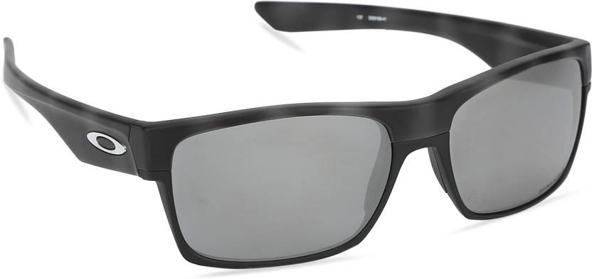 5ca8f29388316 Buy Oakley TWOFACE Retro Square Sunglass Black For Men Online   Best ...