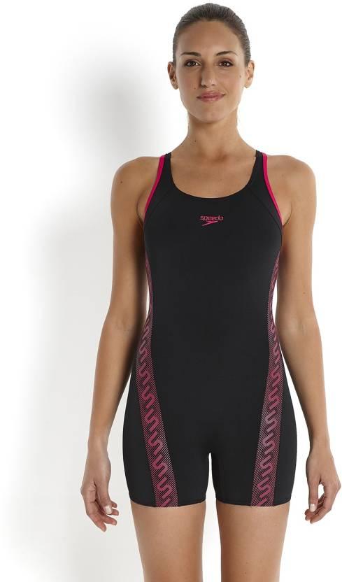 16424aed66 Speedo Female Swimwear Monogram Legsuit Printed Women's Swimsuit - Buy Speedo  Female Swimwear Monogram Legsuit Printed Women's Swimsuit Online at Best ...