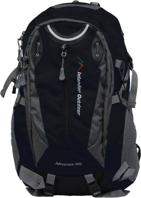 2e584adc7705 Inlander 1015 Black Rucksack - 40 L Black - Price in India ...
