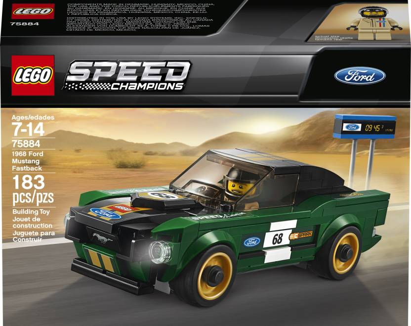 Ford Mustang Fastback >> Lego 1968 Ford Mustang Fastback