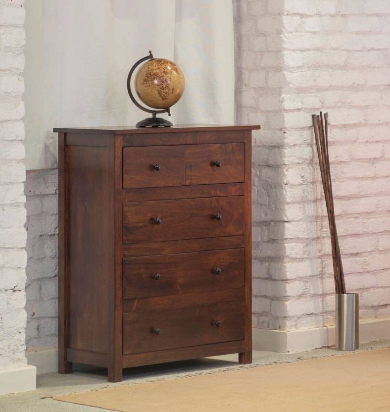 The Jaipur Living Solid Wood Free Standing Chest Of Drawers Price In