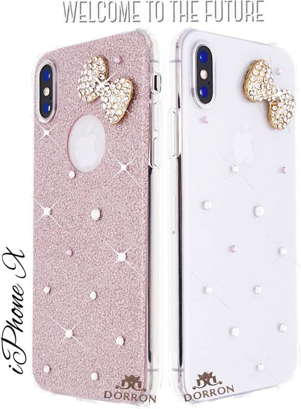 new arrival 9ad1b 0325d DORRON Back Cover for Apple iPhone X, Apple iPhone 10