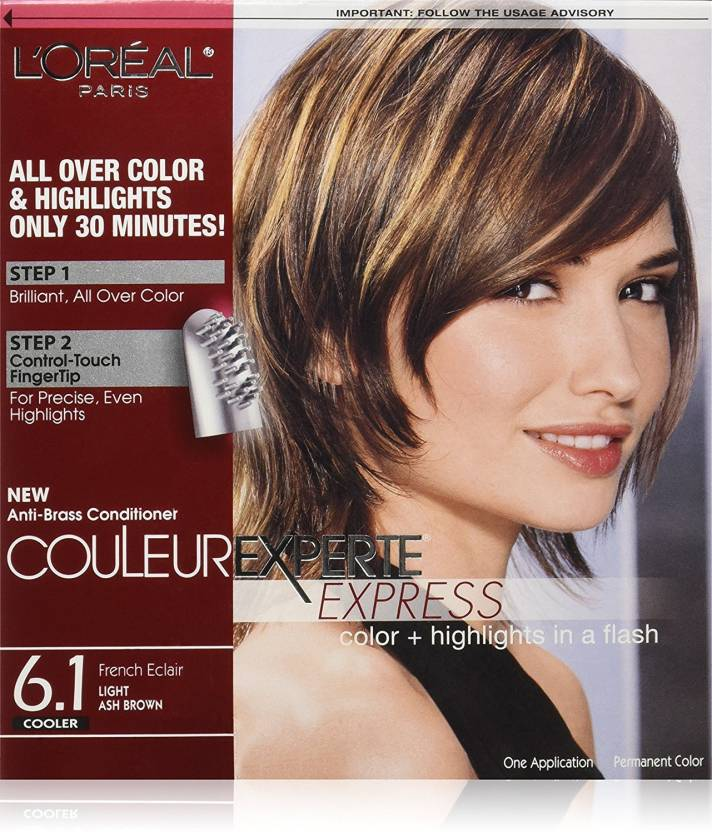 Loreal Paris Couleur Experte Express Hair Color 61 Light Ash Brown