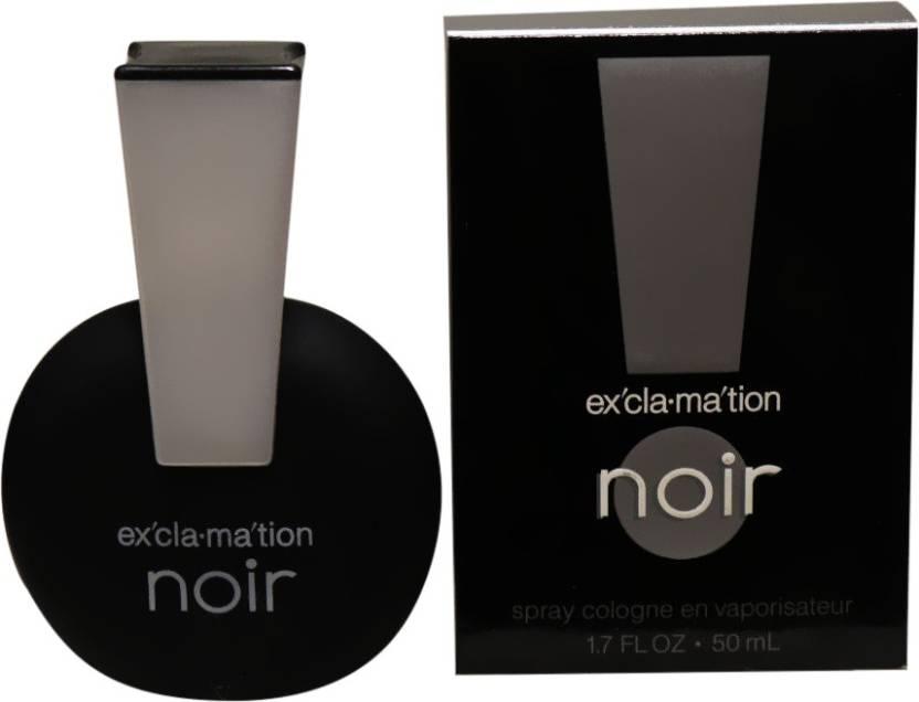 Buy Coty Exclamation Noir Eau De Cologne 50 Ml Online In India