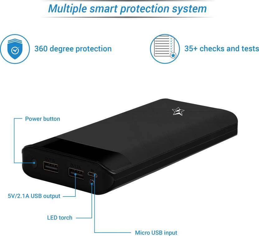 Flipkart SmartBuy 20000 mAh Power Bank (PL2320)