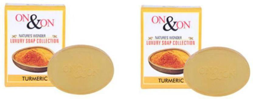 On&On Turmeric soap - Price in India, Buy On&On Turmeric