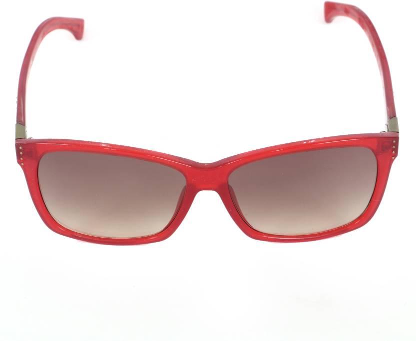 408d5f2ebde Buy Calvin Klein Jeans Rectangular Sunglasses Brown For Men   Women ...