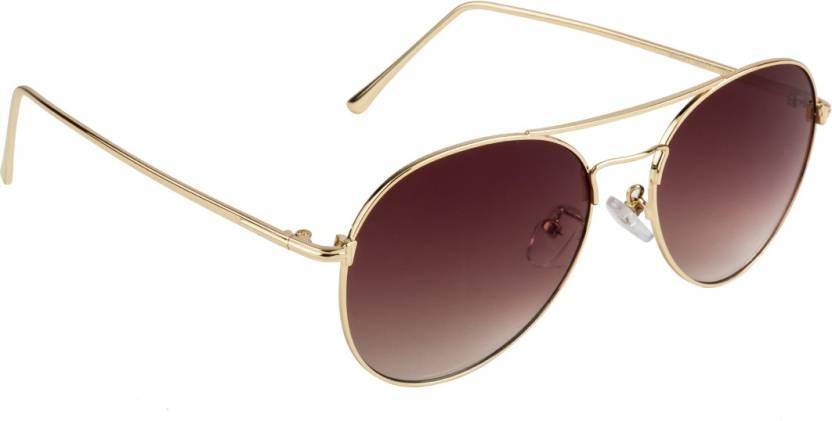 a1483c063a8 Buy Farenheit Round Sunglasses Brown For Men   Women Online   Best ...
