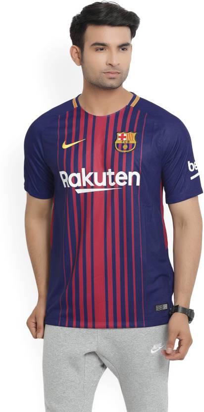 f1c83fe7d Nike Barcelona Printed Men s Round Neck Blue T-Shirt - Buy DEEP ROYAL  BLUE UNIVERSITY GOLD Nike Barcelona Printed Men s Round Neck Blue T-Shirt  Online at ...