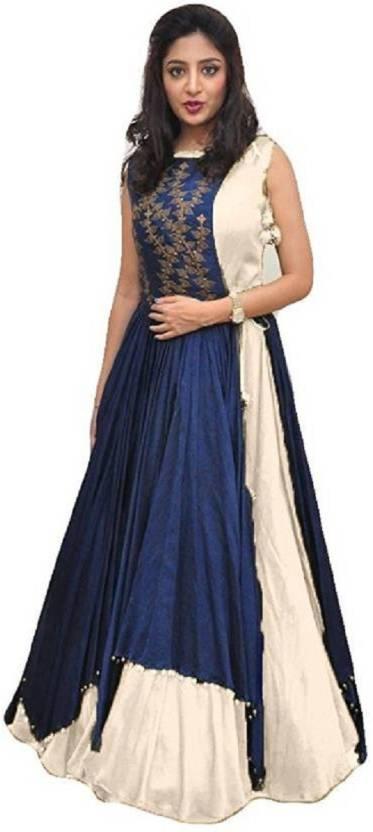 9b6faa271836 Fashions Bazaar A-line Gown Price in India - Buy Fashions Bazaar A ...