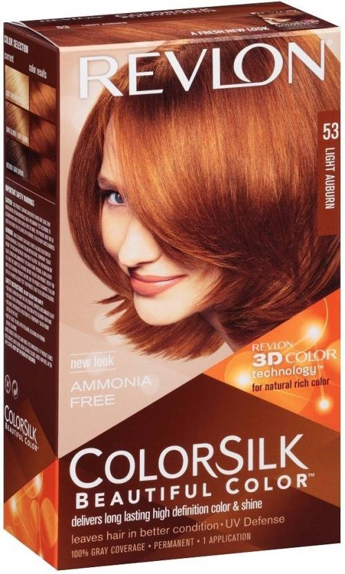 Revlon Light Auburn No-53 Hair Color - Price in India, Buy