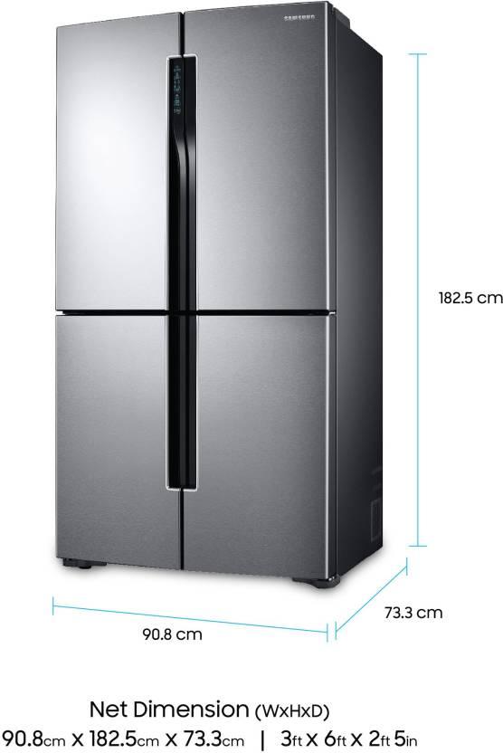 Samsung 680 L Frost Free French Door Bottom Mount Refrigerator