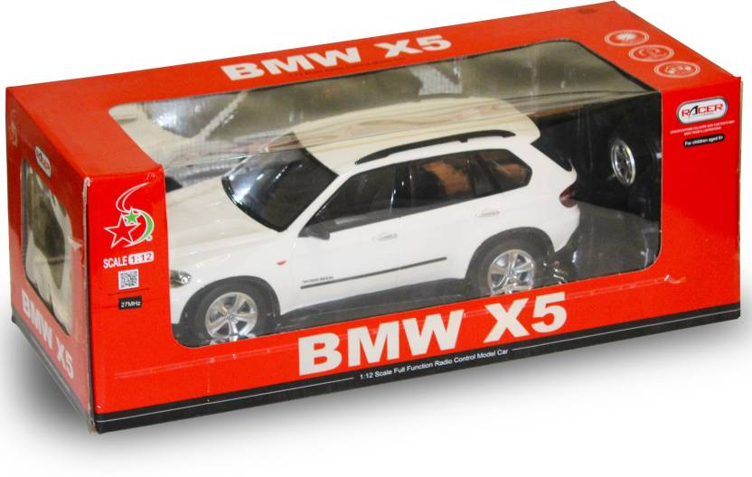 M Max Fully Function Remote Control Bmw X5 1 12 Scale White Car