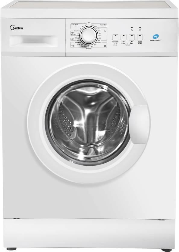 17% off Midea 6 kg Fully Automatic Front Load Washing Machine White  (MWMFL060HEF)#OnlyOnFlipkart  ₹11,999
