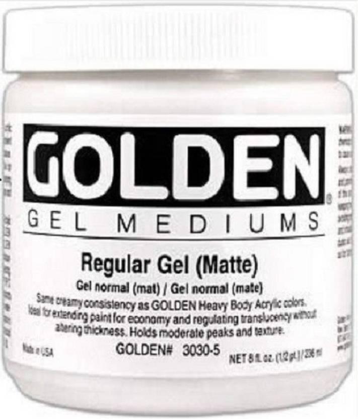 Golden Gel Mediums Regular Gels Matte Acrylic Medium Price in India