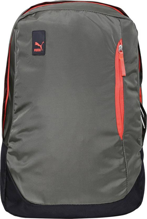 Puma Back pack 17.61 L Laptop Backpack Olive Night - Price in India ... f549f2ea60082