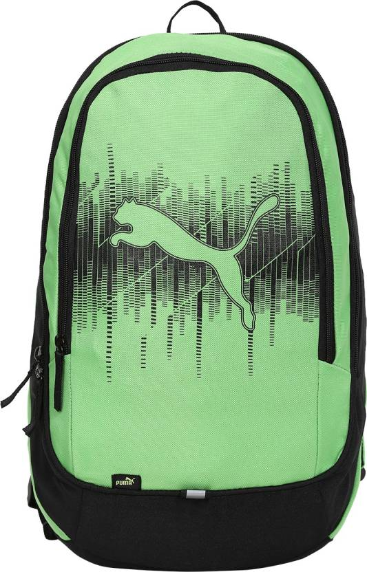 ac5f567307 Puma Back pack 19.96 L Laptop Backpack Classic Green- Black - Price ...
