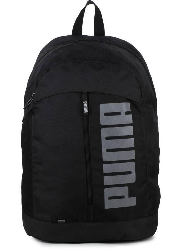 Puma Pioneer II IND 22 L Laptop Backpack Black - Price in India ... 5a861a4e41b99