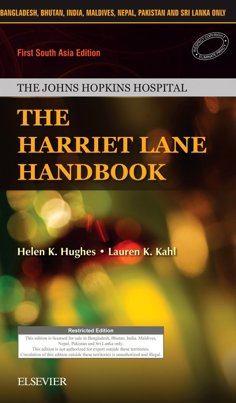Harriet Lane Handbook Of Pediatrics Pdf