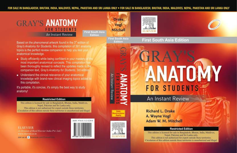 Gray\'s Anatomy For Students : An Instant Review First South Asia ...