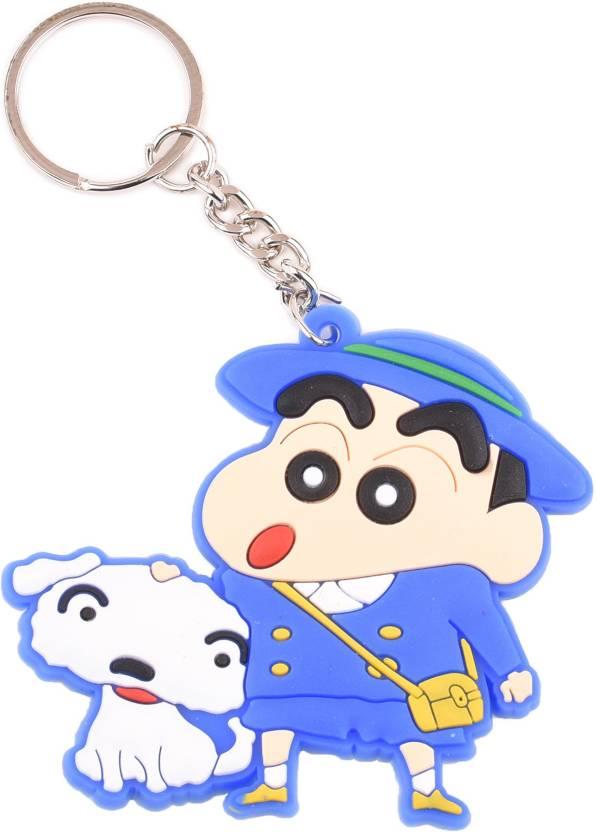 Techpro Singlesided Shinchan Blue With Shiro Key Chain Buy Techpro