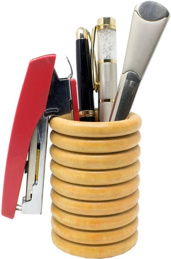 Flipkart Com Tootpado 1 Compartments Wooden Pen Stand For Office