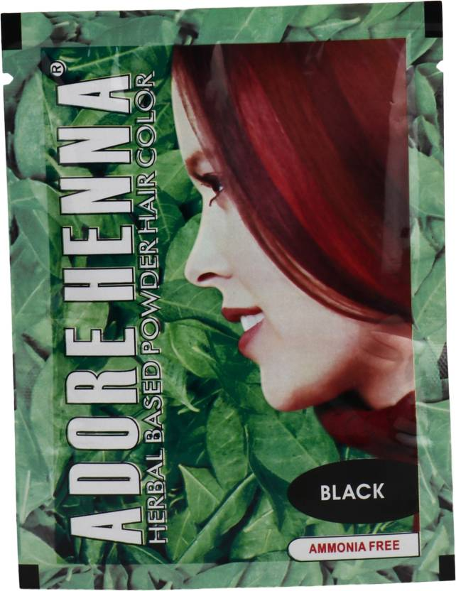 Adore Henna Black Hair Color Price In India Buy Adore Henna Black