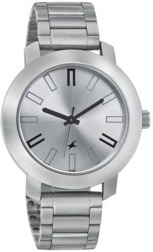 f75fbc36ab7 Fastrack Casual Analog Silver Dial Men s Watch - 3120SM01 Watch - For Men -  Buy Fastrack Casual Analog Silver Dial Men s Watch - 3120SM01 Watch - For  Men ...