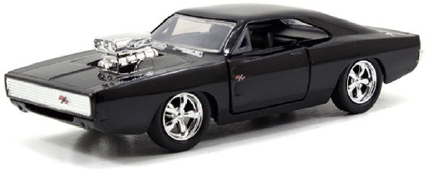 Jada Fast /& Furious 1:32 Diecast Dom/'s Dodge Charger R//T Car Black Model Collect