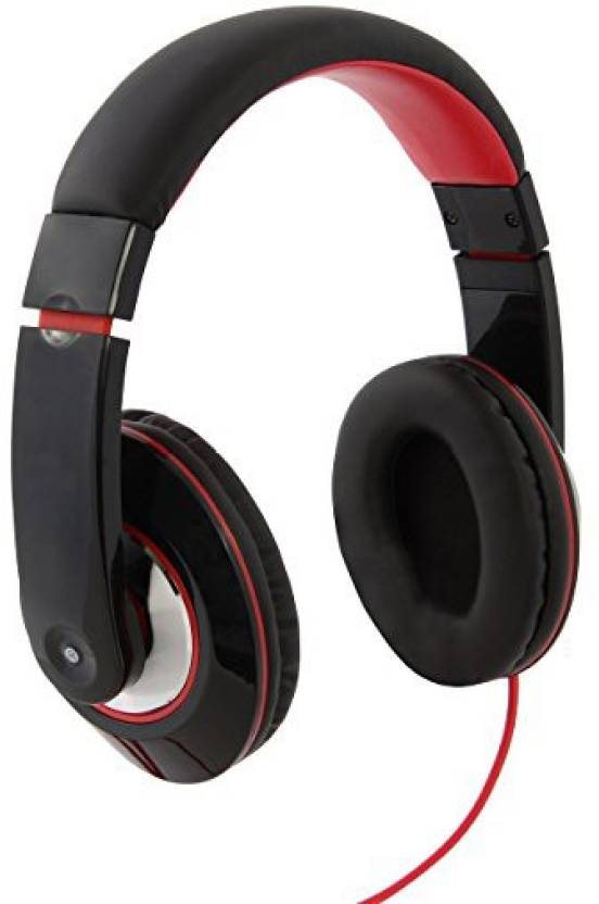 781c4201387 Irayz itek hd bluetooth wireless headphones Bluetooth, Wired Headset with  Mic (Black, Red, Over the Ear)