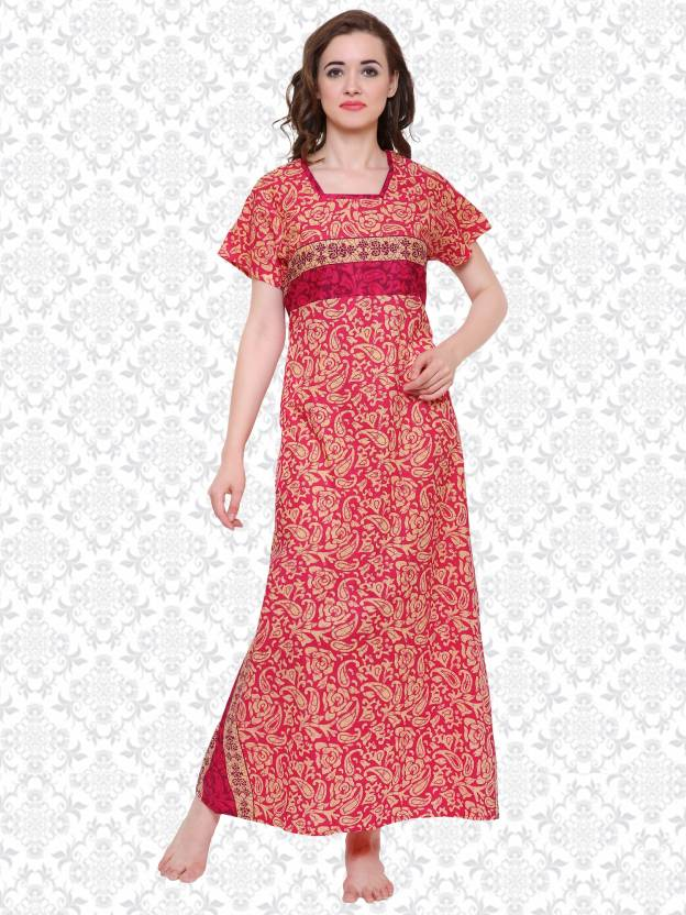 3ba27a2ecef Divastri Women Nighty - Buy Divastri Women Nighty Online at Best ...