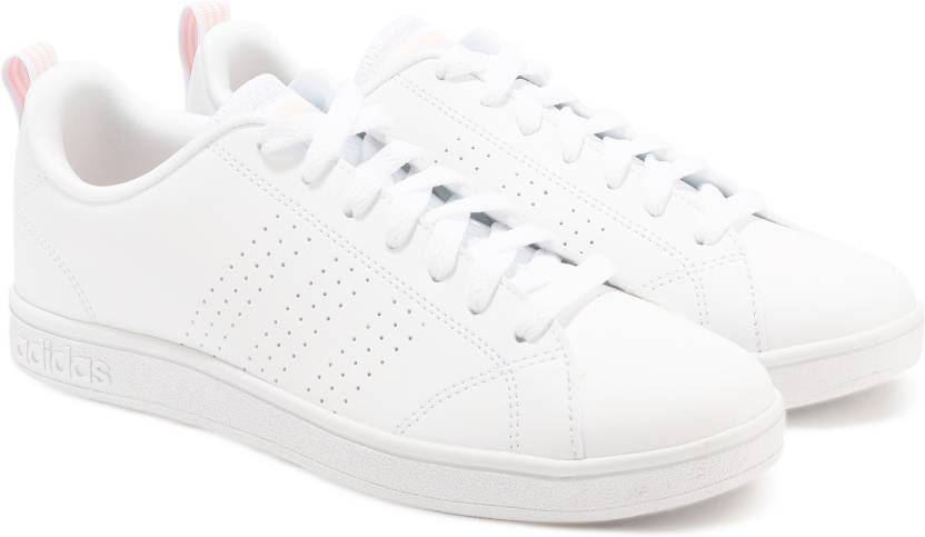 official photos 253c7 6905b ADIDAS VS ADVANTAGE CL Tennis Shoes For Women (White)