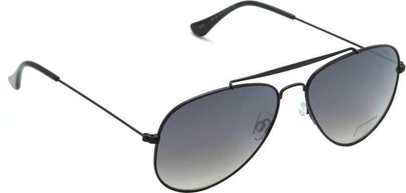 93b4755ac6391 Buy IDEE Aviator Sunglasses Black For Men   Women Online   Best ...